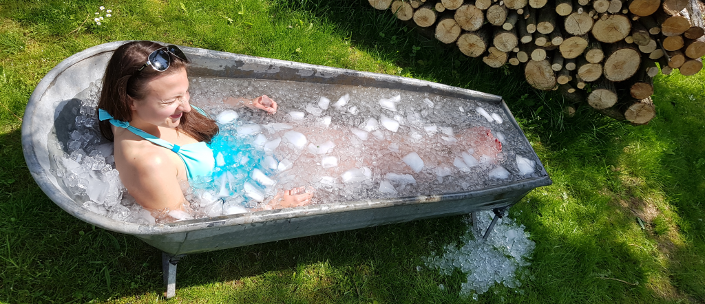 Veronika v ledové koupeli